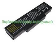 Asus A32-F3, 90-NI11B1000 90-NIA1B1000 F2, F3, M50, M51, Z53 Series Replacement Laptop Battery