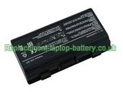 Asus A32-X51 A32-T12 90-NQK1B1000Y, T12 T12C X51H  X51L Replacement Laptop Battery
