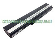 Asus A32-N82, N82 A40 Series Battery 10.8V 4400mAh 6-Cell