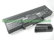 Replacement Laptop Battery for  6600mAh MITAC GC02000AM00, GC020009Y00, BATEL80L6, ID6,