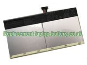 C12N1604 Battery, Asus C12N1604 Transformer Book T101HA Series Replacement Laptop Battery