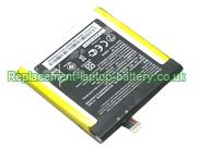 C11P1309 Battery, Asus C11P1309 Fonepad Note 6 ME560CG Replacement Laptop Battery