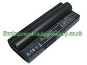 Asus 90-OA001B1100, Eee PC 700, Eee PC 900 Series Eee PC 2G, Eee PC 4G Surf Replacement Laptop Battery 6600mAh