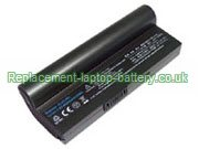 Asus Eee PC 901, PC 904, PC 1000 Series, AL23-901 Replacement Laptop Battery 6600mAh