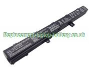 A41N1308 Battery 4-Cell, Asus A41N1308 X551CA X451CA Series Replacement Laptop Battery