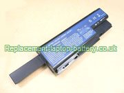12-Cell Acer AS07B31, AS07B41, AS07B51, Aspire 5520 5920 Series Replacement Laptop Battery