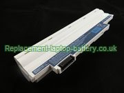 Acer AL10B31, AL10A31, AL10BW, Aspire One D255 D260 Series Battery 9-Cell White