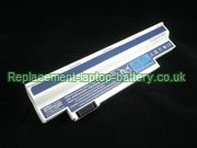 Replacement Laptop Battery for  4400mAh Long life GATEWAY UM09H36, UM09H73, LT2120U, LT2110U,