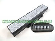 Averatec 2200 #8092 SCUD, 2200 #8735 SCUD, 23+050490+01, H12 2200 2225 2260 AV2260 2300 Series Battery 4400mAh 6-Cell Black