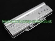 Averatec 2200 #8092 SCUD, 23+050410+00, 23+050510+00, 2300 2200 Series Battery 9-Cell Silver