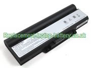 9-Cell Averatec 23+050510+00, 2200/2300 Series H12 2200 2225 2260 AV2260 2300 Series Extended Battery Black