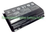 Replacement Laptop Battery for  5200mAh SAGER Sager NP6350 Series, Sager NP6370 Series,