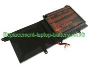 N130BAT-3 Battery, Clevo N130BAT-3 6-87-N130S-3U9A Replacement Laptop Battery