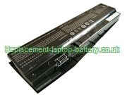 Replacement Laptop Battery for  62WH SAGER NP6852, NP5870, NP5852, NP5850,