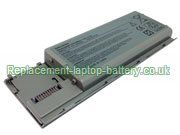 Dell PC764, Latitude D620 630 Replacement Laptop Battery 4400mAh