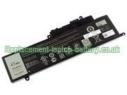 GK5KY Battery 11.1V Replacement for Dell Inspiron 13 7347 Convertible Laptop
