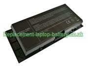 9-Cell Dell PG6RC, FV993, 9GP08, Precision M4600 M6600 M6700 M6800 Replacement Laptop Battery