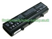 GW240 Battery, Dell GW240, Inspiron 1545 1525 Replacement Laptop Battery 4-Cell 14.8V