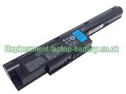 Fujitsu FPCBP274, FMVNBP195, Lifebook BH531 LH531 SH531 Replacement Laptop Battery