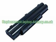 Fujitsu FMVNBP213 FPCBP331 FPCBP347AP LifeBook AH532 Replacement Laptop Battery