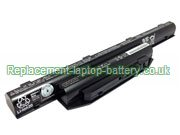 Fujitsu FPCBP404 FPCBP416 FMVNBP228 LifeBook E733 E734 E744 E753 Replacement Laptop Battery