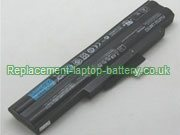 FPB0285 Battery, Fujitsu FPB0285 Replacement Laptop Battery 6-Cell