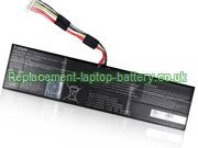 Replacement Laptop Battery for  6200mAh GETAC 541387460003,