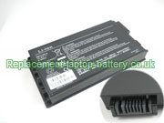 Replacement Laptop Battery for  4400mAh ARIMA A0730, W812-UI,