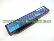 Replacement Laptop Battery for  4400mAh PACKARD BELL EasyNote MH36, 9134T3120F, EasyNote MH88, EasyNote MH45,