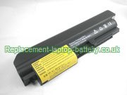 IBM FRU 42T4548, 43R2499, ThinkPad R400 ThinkPad T61 R61 Series 14.1 widescreen Replacement Laptop Battery 6-Cell