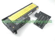 Replacement Laptop Battery for  2200mAh LENOVO 40Y7001, FRU 92P1169, ASM 92P1174, FRU 92P1227,