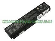 Replacement Laptop Battery for  4400mAh HASEE HP650, HP560, HP430, HP660,