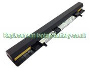 L12S4F01 Battery, Lenovo L12S4F01 L12S4A01 IdeaPad Flex 14 14M 15 15M IdeaPad S500 Touch Ultrabook Battery 4-Cell
