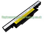 Lenovo L11S6R01 L12S6A01 L12S6E01  IdeaPad Y400 Y400N Y400P Y410 Y410P Y490 Y500 Replacement Laptop Battery