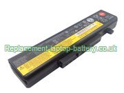 Lenovo L11L6F01 L11L6R01 L11L6Y01 IdeaPad Y480 Y580 Y580A Y580M Y580P Series Replacement Laptop Battery 75+