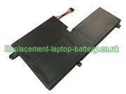 L14M3P21 Battery, Lenovo L14L3P21  L14M3P21 Flex 3 1570 Flex 3 1470 Edge 2-1580 Replacement Laptop Battery