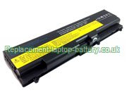 Lenovo FRU 42T4819, FRU 42T4817, 42T4753, 42T4737, ThinkPad E50 SL410 SL510 W510 T410 E40, ThinkPad Edge 14-inch Series Replacement Laptop Battery