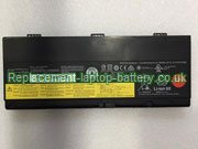 00NY492 Battery, Lenovo 00NY492 FRU 00NY493 ASM SB10H45078 SB10H45077 ThinkPad P50 Series Replacement Laptop Battery 77+