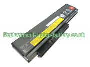Lenovo FRU 42T4901, ASM 42T4902, ThinkPad X220 X220i X220s Series 29 Battery 14.8V