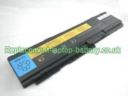 Replacement Laptop Battery for  3600mAh Long life IBM 42T4523, ThinkPad X300 Series, 43R1965, 43R1967,