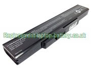 A32-C17 Battery 10.8V, Medion A32-C17 Akoya E7223 MD98457 E7223T E7225 Akoya P7627 P7627T Replacement Laptop Battery 6-Cell