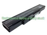 Replacement Laptop Battery for  4400mAh PEGATRON C17A Series,