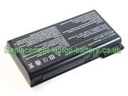 MSI BTY-L75, BTY-L74, CX600X, A5000 A6000 CR700 CX600 Laptop Battery 9-Cell