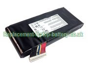 BTY-L77 Battery, MSI BTY-L77 GT72 MS-1781 Series Replacement Laptop Battery 11.1V