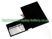 BTY-M6F Battery, MSI BTY-M6F GS60 2QE Ghost Pro 4K GS60 Ghost Pro 3K Edition Replacement Laptop Battery