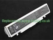 9-Cell Samsung AA-PB9NC6W, AA-PB9NS6B, AA-PB9NC6B, R467 R468 R470, Q308 Q210 Q310 Series Replacement Laptop Battery White