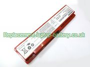 Samsung AA-PL0TC6R, AA-PBOTC4B, AA-PB0TC4R, NP-N310, N310 Series Battery Red