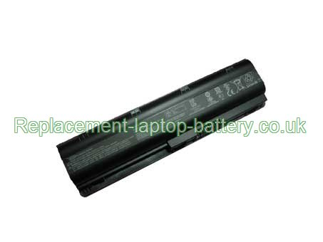 Replacement Laptop Battery for COMPAQ Presario CQ62Z-200, Presario CQ62-225, Presaio CQ72, Presario CQ62-215,  4400mAh