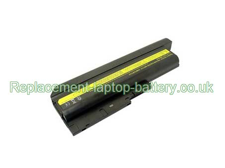 IBM 40Y6795, 40Y6799, ASM 92P1138, FRU 42T4513, FRU 42T4619, ThinkPad R60 R60e R61 T60p T61 Z60m Z61 Series Replacement Laptop Battery